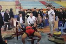 مسابقات پرس سینه آذربایجان غربی پایان یافت