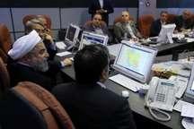 روحانی گفت که ایران تعامل با جهان را می خواهد