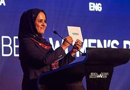 شهریاری ناظر فینال جام جهانی فوتبال ساحلی شد/ انتخاب یک زن برای نخستین بار در تاریخ