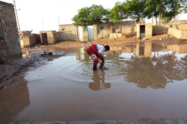 40 حادثه دیده از سیلاب در خراسان جنوبی امدادرسانی شدند