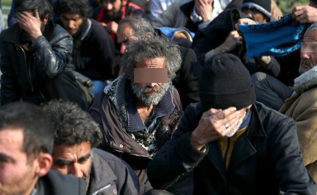 338 معتاد متجاهر در غرب استان تهران جمع آوری شد