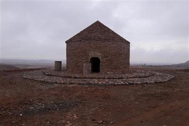 مرمت برج مقبره کندال در شوط به اتمام رسید