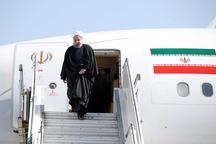 رییس جمهوری وارد آذربایجان غربی شد
