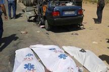 حادثه رانندگی در جاده اردبیل - نیر سه کشته برجای گذاشت