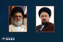 عیادت سید حسن خمینی از آیت الله رسولی محلاتی