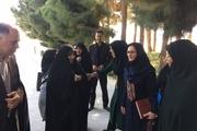 معاون رئیس جمهوری در امور زنان وارد زاهدان شد