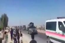 ورود نیروهای عراقی به شهر کرکوک