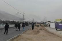 شهادت مأمور پلیس کرمانشاه در درگیری با اغتشاشگران