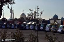 آیین بدرقه 40 کاروان فرهنگی از جوار حرم امام خمینی(س)