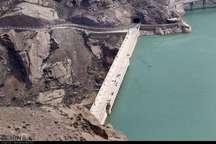 ذخیره آب مخزن سد سفیدرود 60 میلیون متر مکعب افزایش یافت