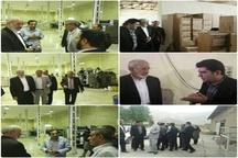 بازدید ملکشاهی راد از واحدهای صنعتی