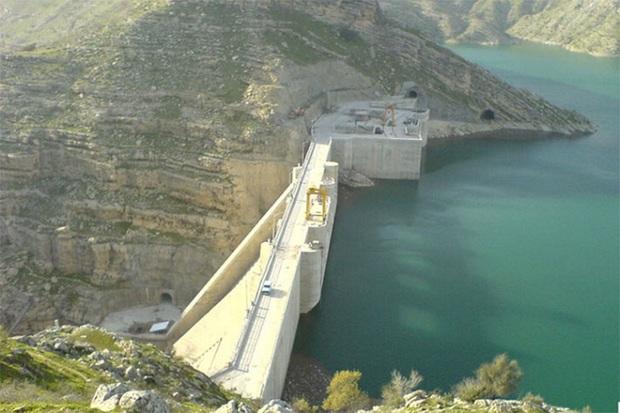 352 میلیون متر مکعب آب باران پشت سد کوثر ذخیره شد