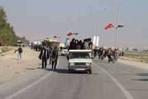 پلیس راه کرمانشاه برای بازگشت زائران اربعین آمادگی دارد