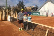 پایان رقابتهای تنیس بازان شمال شرق کشور در مشهد