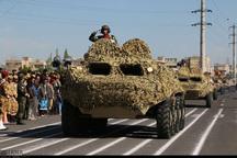 نیروهای مسلح زنجان آمادگی و اقتدار خود را به نمایش گذاشتند
