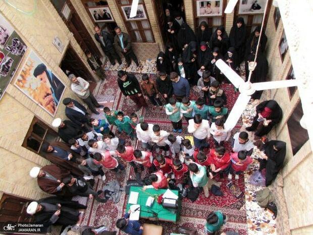 گرامیداشت پیروزی انقلاب در بیت تاریخی امام خمینی در نجف اشرف + تصاویر