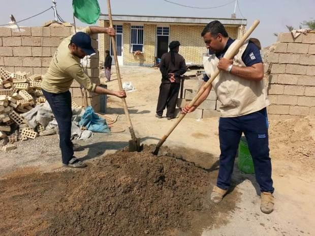 11 اردوی جهادی در روستاهای شوش برگزار شد