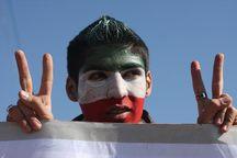 راهپیمایی باشکوه سی وسومین سالروز پیروزی انقلاب در تهران