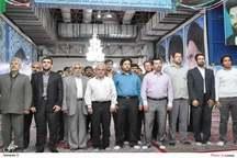 تجدید میثاق فرماندهان بسیج پایگاه های توزیع برق استان تهران با آرمانهای امام راحل