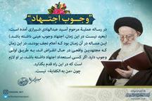 آیت الله العظمی شبیری زنجانی: بر کسی که استعداد اجتهاد دارد، لازم است در این راه قدم بگذارد
