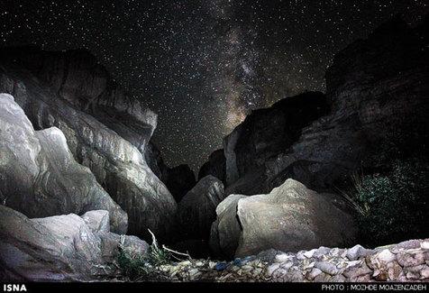 دره شگفت انگیز «راگه» رفسنجان+ تصاویر