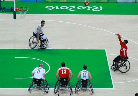 تیم ملی بسکتبال با ویلچر ایران مقابل آلمان به پیروزی رسید