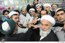 ادای احترام  گروه های اهل تسنن نسبت به امام راحل
