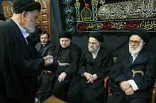 شکسته شدن مُهر آیت الله العظمی موسوی اردبیلی در حضور علما+ عکس