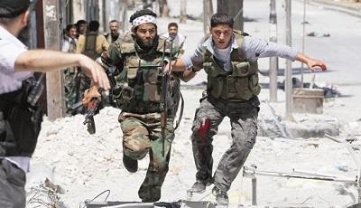 گروهک های تروریستی سوریه در پایان خط