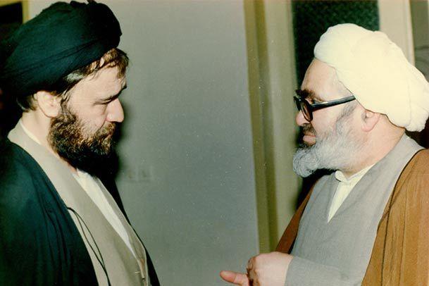 Картинки по запросу منتظری و احمد خمینی