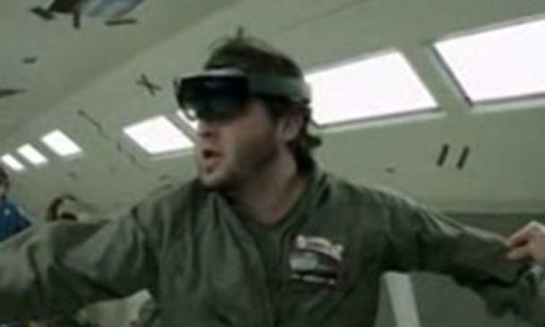 فیلم / عینک های هوشمند در راه فضا