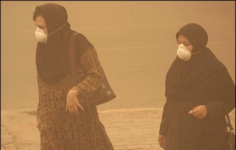 گرد و غبار در اکثر مناطق کشور