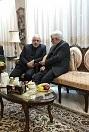 عارف و ظریف در یک مجلس عرض تسلیت+عکس
