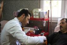 اهدای 770 واحد خون در ایام عزای حسینی در میاندوآب