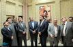 دیدار وزیر فرهنگ و ارشاد اسلامی از بیت امام در نجف اشرف