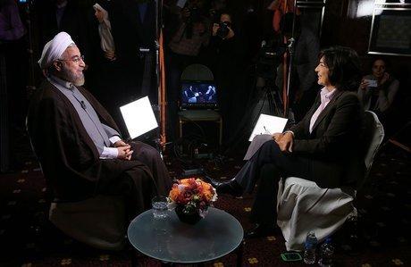 روحانی به سی ان ان: مذاکره تنها راه توافق بر سر موضوع هسته ای ایران است