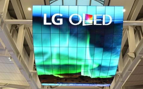 نصب بزرگترین نمایشگر OLED در کره جنوبی