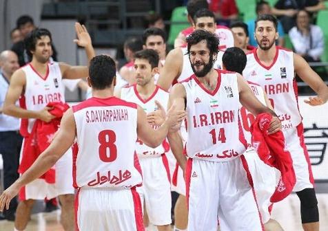 قهرمانی بسکتبالیستهای ایران در رقابت های غرب آسیا