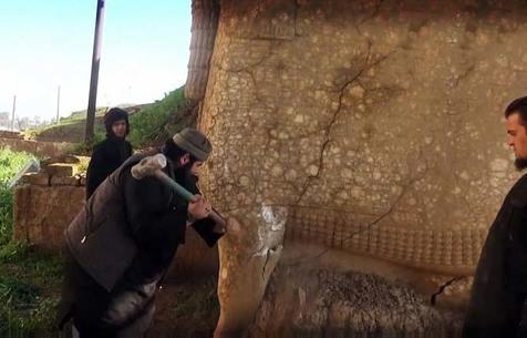 محکومیت اقدام داعش در مورد تخریب آثار هنری موزههای عراق