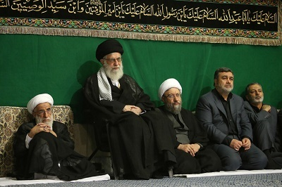 مراسم عزاداری شب عاشورای حسینی (ع) با حضور رهبر انقلاب
