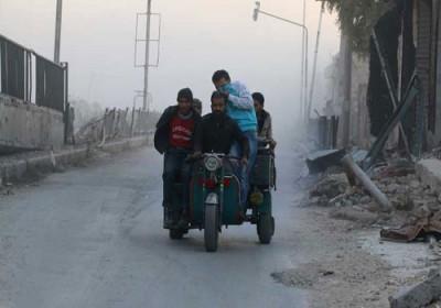 فرار 400 غیرنظامی از شرق حلب