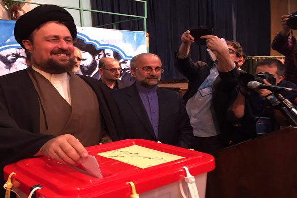 سید حسن خمینی: انشالله حضور مردم در انتخابات خوب باشد