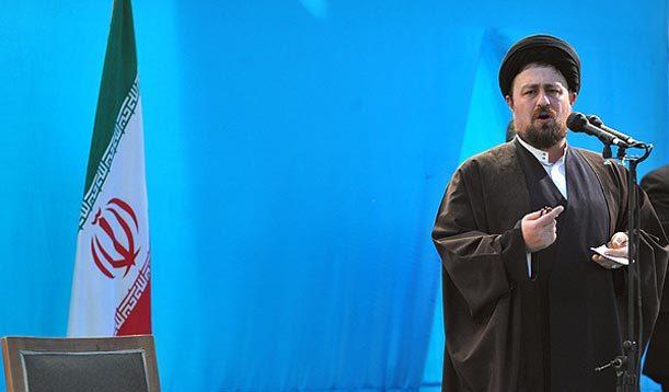 سید حسن خمینی: اخلاقی عمل کنیم دروغ نگوییم تهمت نزنیم بد مردم را نخواهیم بی ادب نباشیم