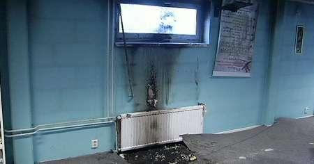 آتش زدن سومین مسجد در سوئد