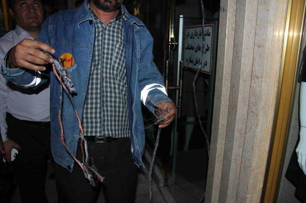 استفاده غیر مجاز از برق، عامل آتشسوزی بازار مولانا تبریز