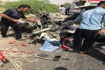 تصادف در جاده دزفول - شوشتر چهار کشته بر جا گذاشت