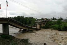 275 پل در سیل اخیر گیلان و مازنداران تخریب شد