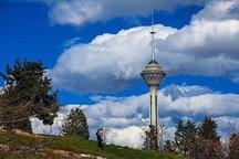 وزش باد و بارش پراکنده برای تهران پیش بینی می شود