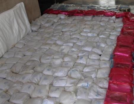 کشف ۲.۵ تن موادمخدر در درگیری مسلحانه