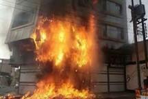 انفجار در یک واحد مسکونی در دزفول خساراتی بر جای گذاشت